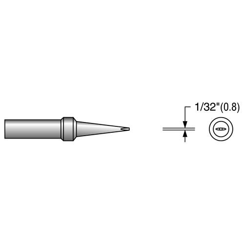 PLATO Soldering Tip For Weller PES51 EW-307
